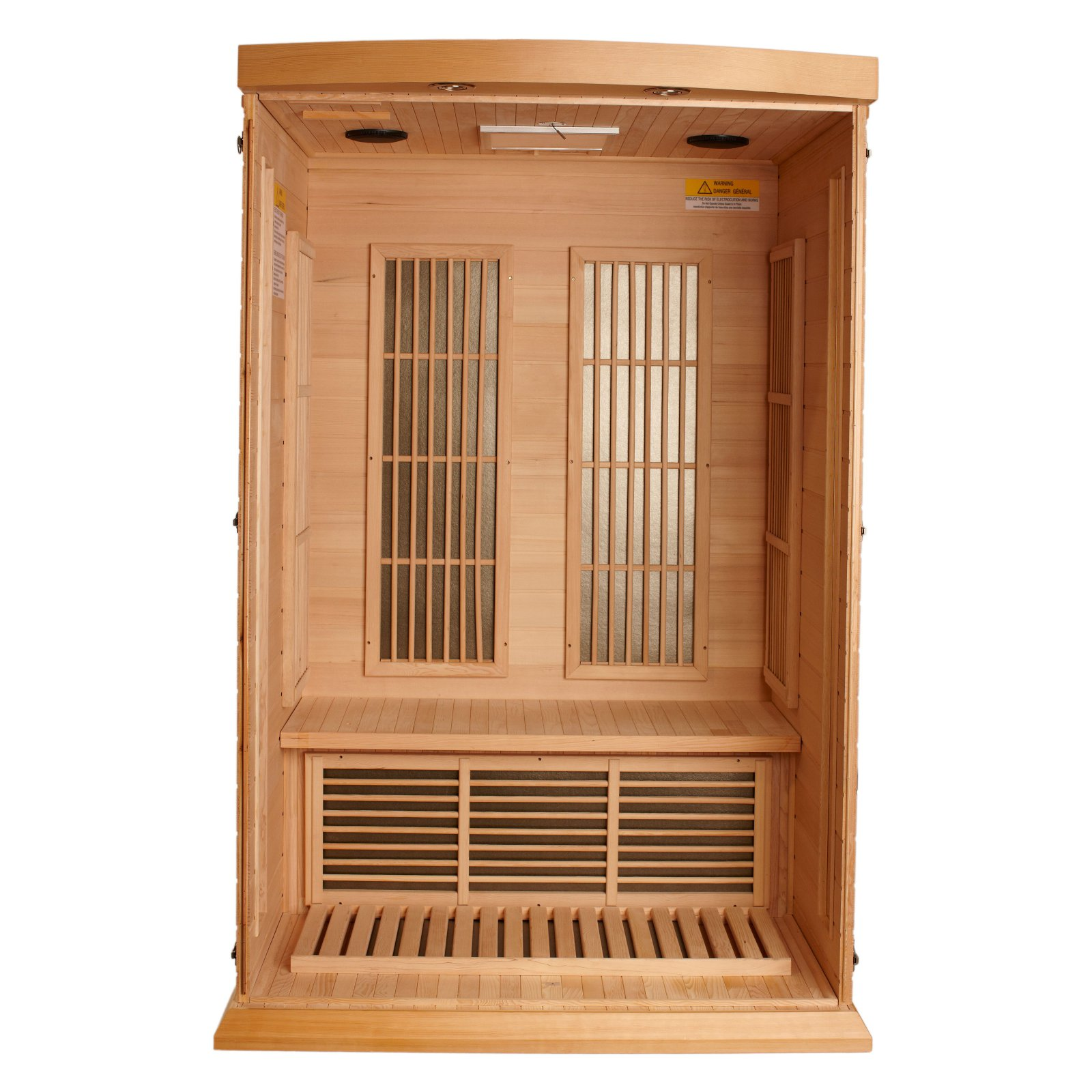 Maxxus Sauna 2 Person Carbon Sauna
