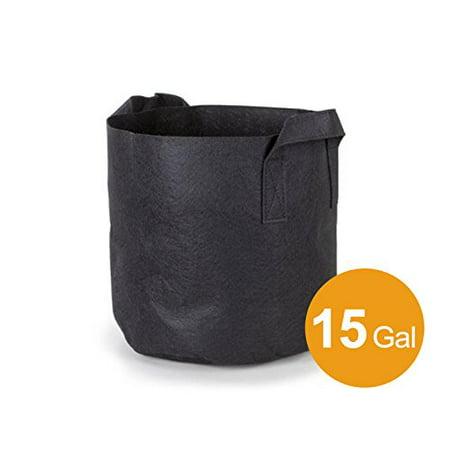 Vertical Grow Bag (Mr. Garden 15 Gal Fabric Aeration Grow Bag with Sturdy Handles, Outdoor Vertical Greening Garden Plant Bags)