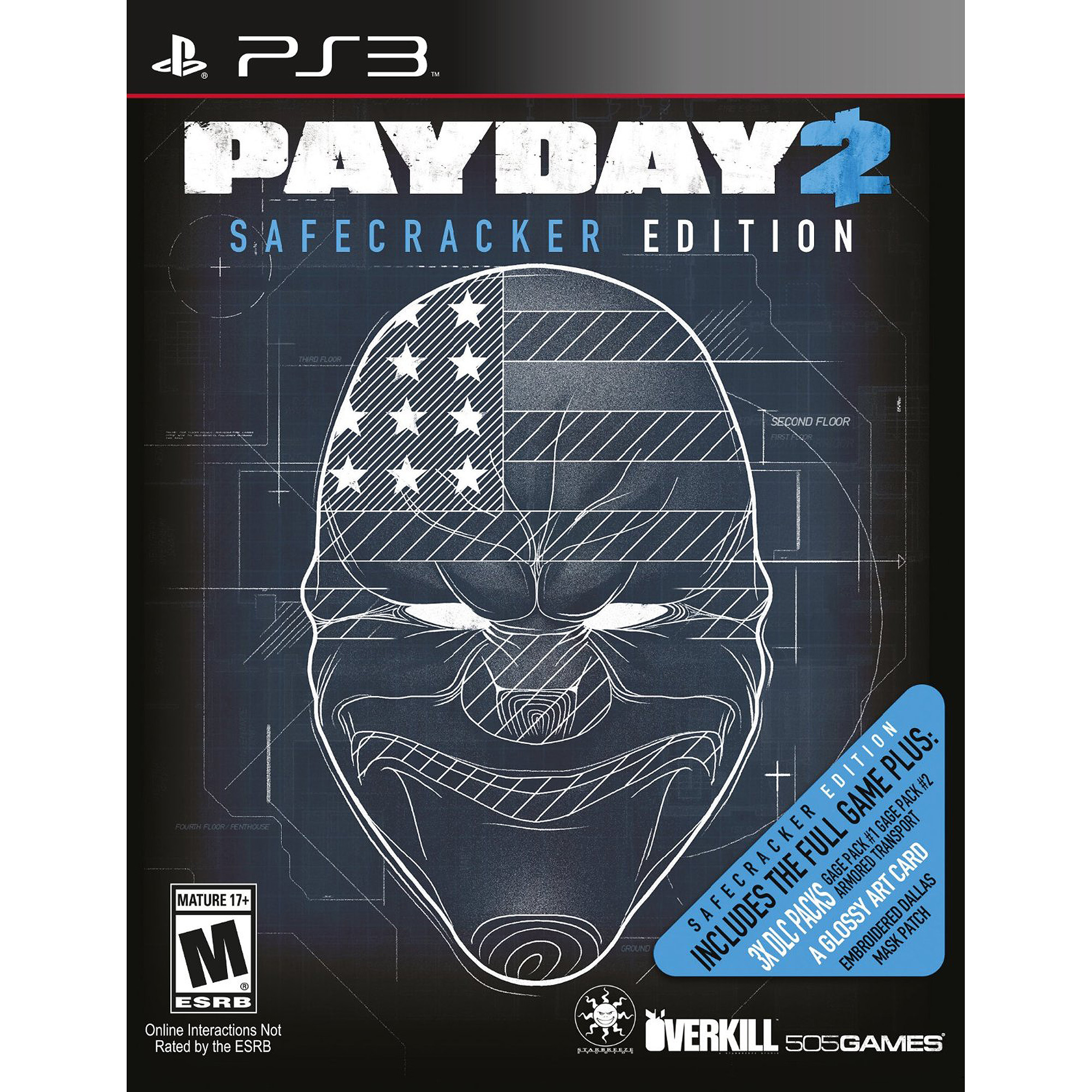 Payday 2 Safecracker (PS3)