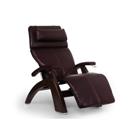 Human Touch Pc 420 Classic Manual Plus Perfect Chair Series 2 Power Recline Dark Walnut Wood Base Zero Gravity Recliner   Burgundy Premium Leather