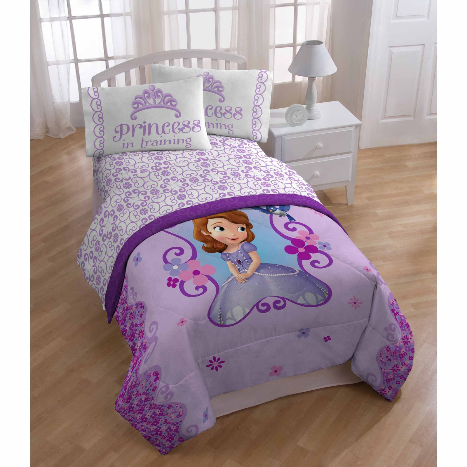 Sofia the First Scroll 3 Piece Sheet Set by Disney