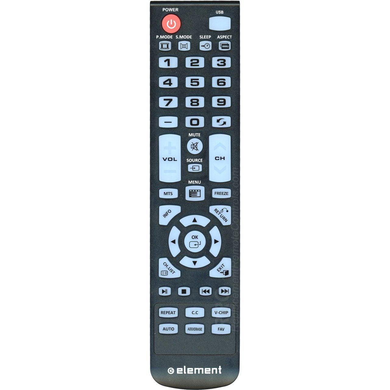 GENUINE Element XHY353-3 TV REMOTE CONTROL FOR ELEFW247 / ELEFW504A / ELEFW328