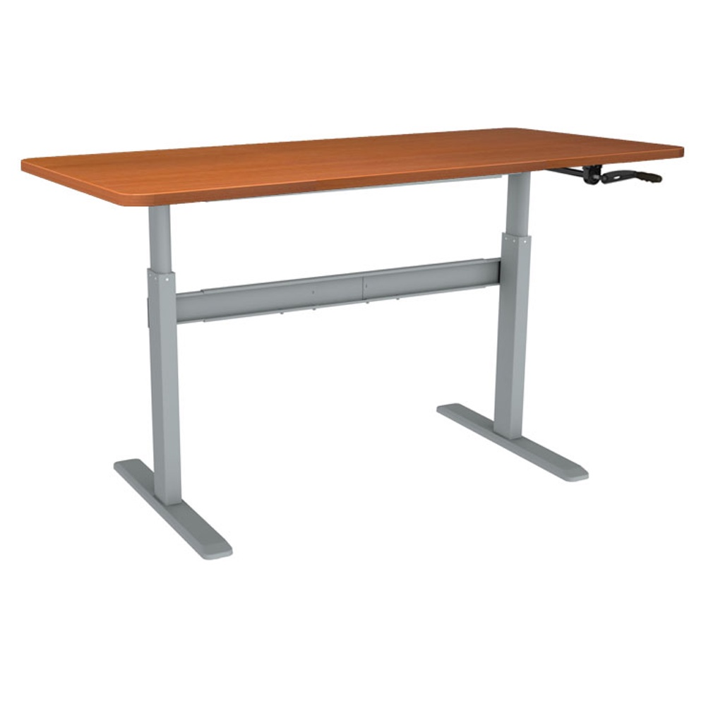 Coventry Manual Crank Handle Standing Desk Sit Stand