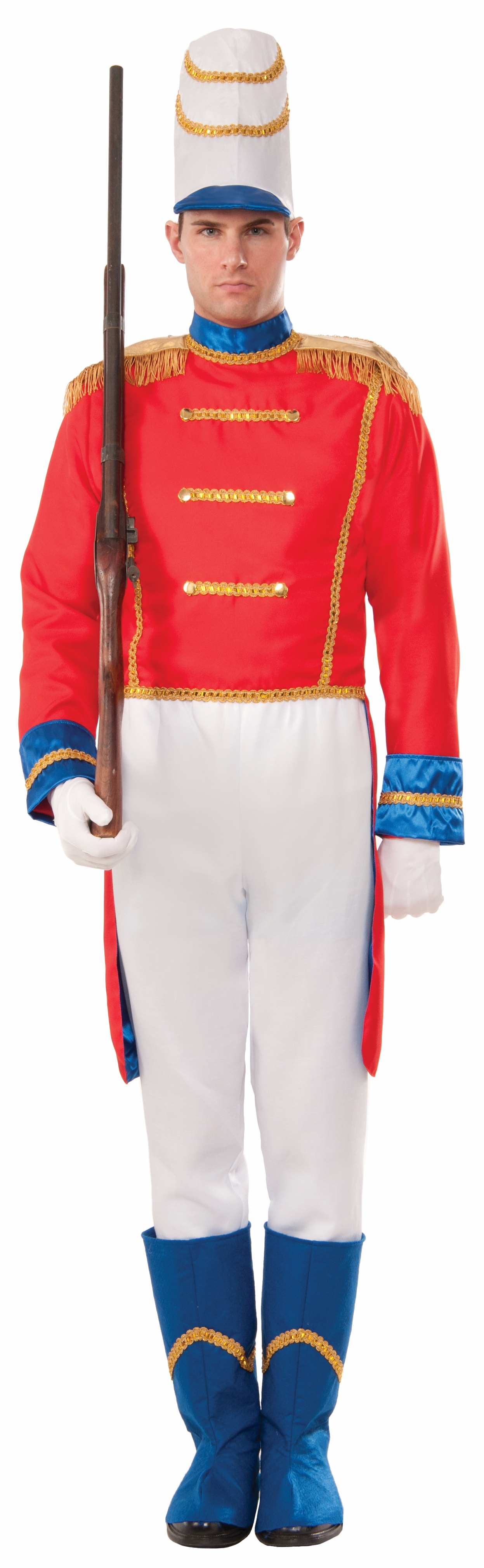 Toy Soldier Adult Costume Nutcracker Uniform Christmas ...