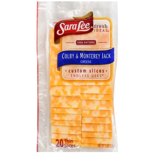 Sara Lee Colby & Monterey Jack Cheese, 8 oz