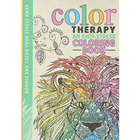 color therapy adult coloring book an anti stress coloring book - Color Books For Adults