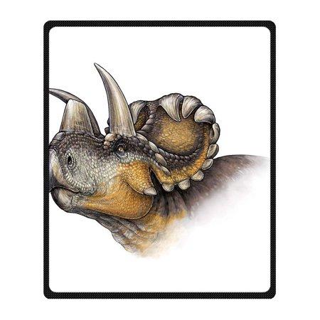 Cadecor Dinosaur Blanket Fleece Throw Blanket For Sofa Or