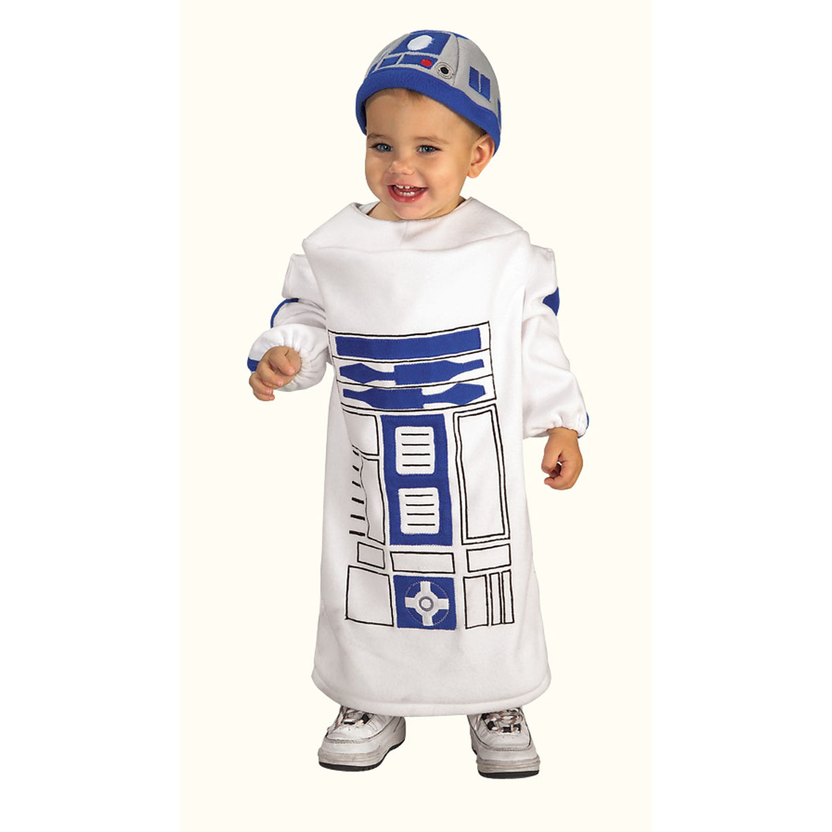 Star Wars Baby Bunting R2D2 Toddler Sized Costume | Rubie's 885310