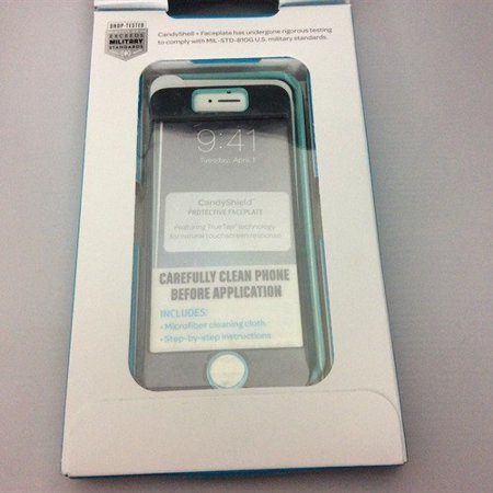 Refurbished Speck iP5S CandyShell + Faceplate Slate Grey/Mykonos Blue (SPK-A2700) ()