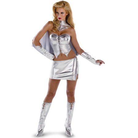 Disguise Emma Frost Sassy Deluxe Teen (7-9) - Frosty Costume