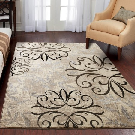 Better Homes & Gardens Iron Fleur Area Rug or Runner for $<!---->