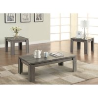 Coaster 701686 Home Furnishings 3 Piece Occasional Set, Weathered Grey