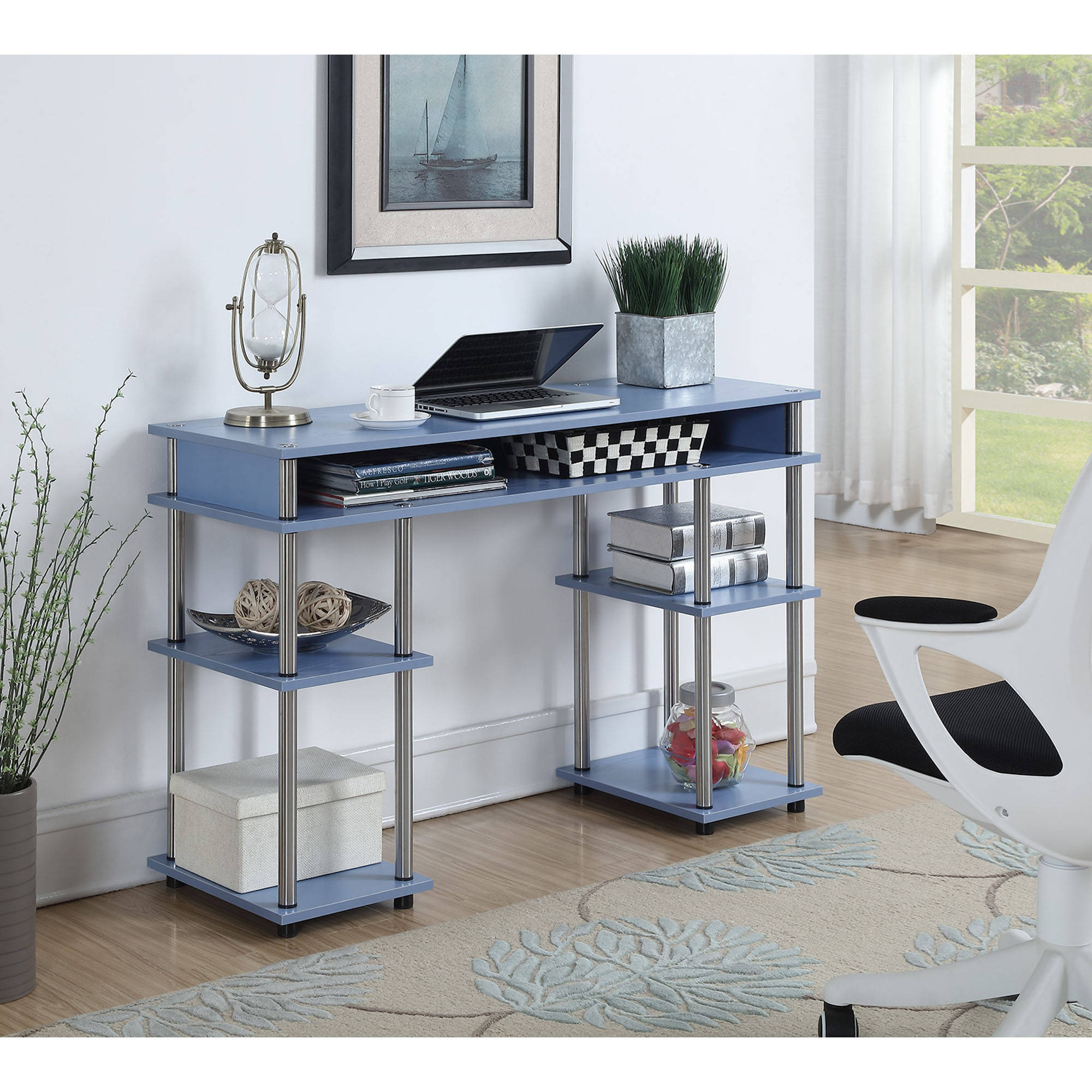 Convenience Concepts Designs2Go No Tools Student Desk, Multiple Colors by Convenience Concepts