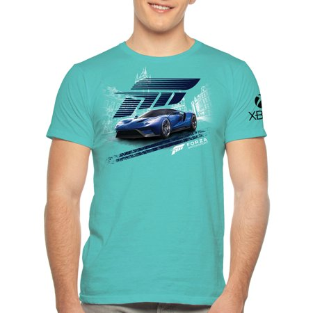 Forza Big Men's Sport Car Graphic Tee, 2XL