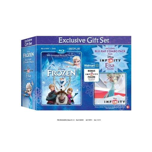 Frozen (Blu-ray + DVD + Digital HD + Infinity Elsa) (Walmart Exclusive) (Widescreen)