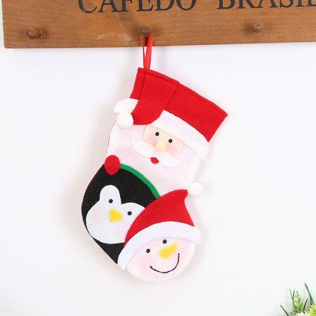 Christmas gifts Candy Beads Christmas Santa Claus Snowman Socks -
