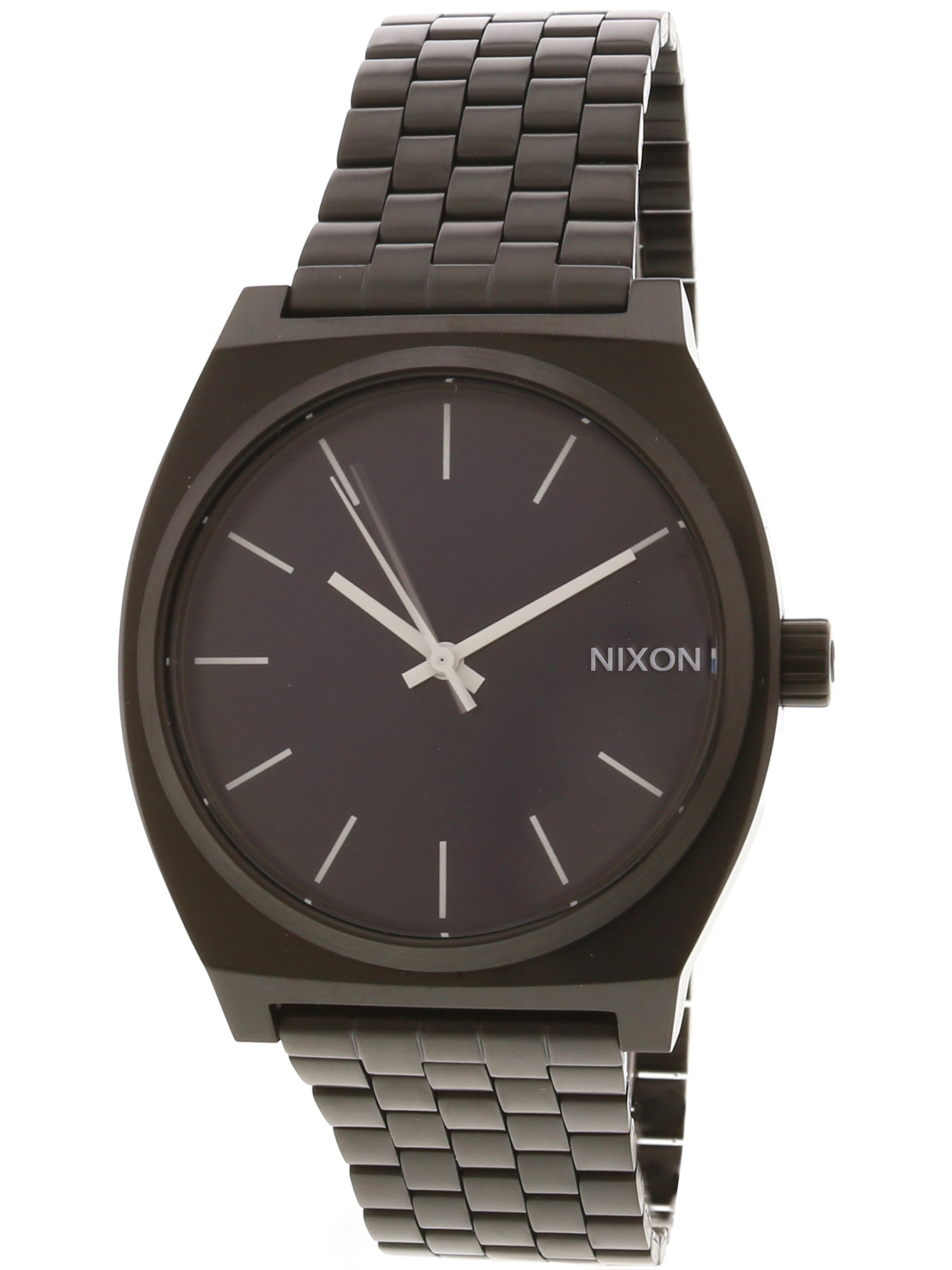 Nixon Men's Time Teller A0452668 Black Stainless-Steel Japanese Quartz Dress Watch
