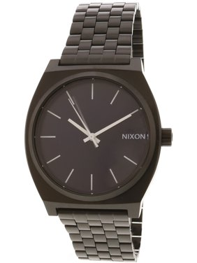 b456c9c465a Product Image Nixon Men s Time Teller A0452668 Black Stainless-Steel  Japanese Quartz Dress Watch