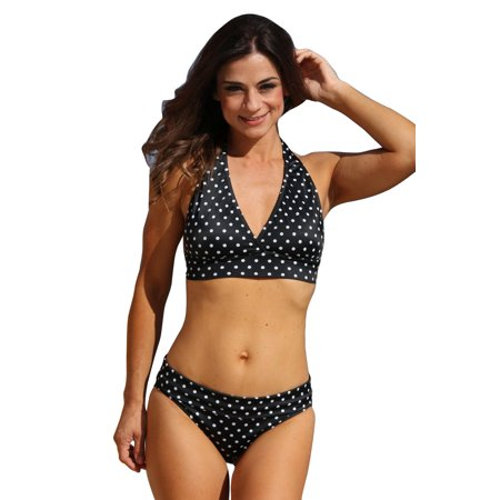 a136b2c362 UjENA Polka Dot Banded Halter - Mix and Match Sizes | Walmart Canada