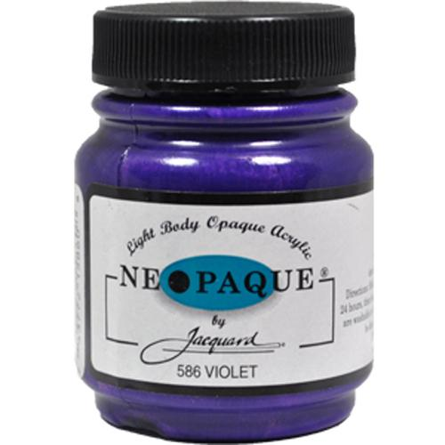 Jacquard Neopaque Color #586 VIOLET Screen Stenciling Stamping Ink Paint 2.25oz