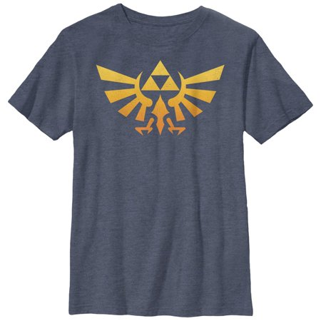 2372f1e57 Nintendo - Nintendo Legend of Zelda Triforce Fade Boys Graphic T Shirt -  Walmart.com