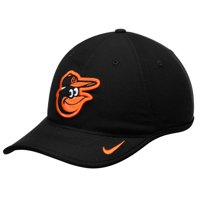 Baltimore Orioles Nike Team Logo Heritage 86 Aero Performance Adjustable Hat - Black - OSFA