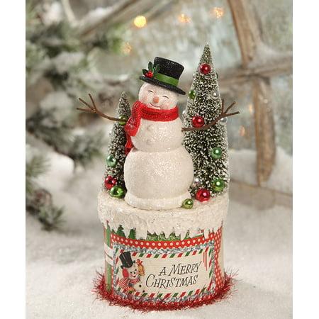 Bethany Lowe Christmas Ornaments.Bethany Lowe 8 Christmas Tl7824 Snowman On Box 2018 Walmart Com