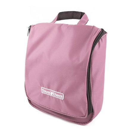 Unique Bargainstravel Storage Makeup Toiletry Organizer Cosmetic Purse Wash Hanging Bag Pink