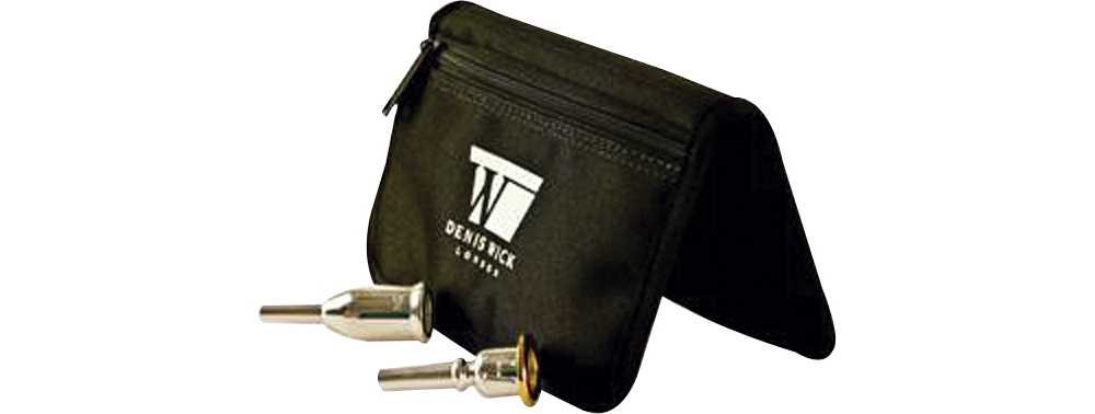 Denis Wick Trumpet   Cornet   French Horn Nylon 4 Piece Mouthpiece Pouch by Denis Wick