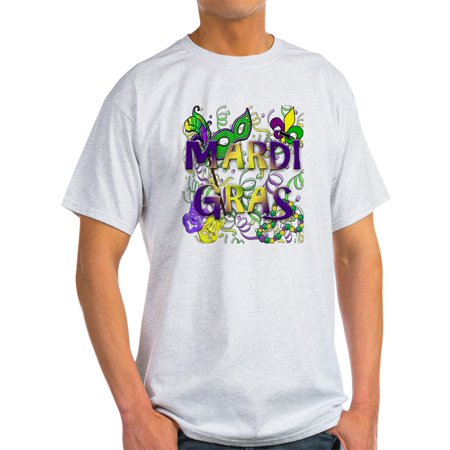 CafePress - MARDI GRAS - Light T-Shirt - CP