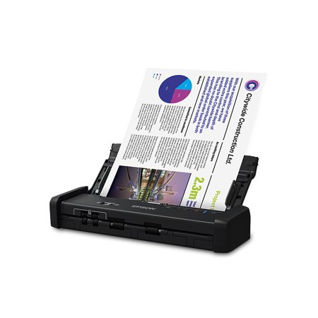 Epson WorkForce ES-200 Portable Duplex Document Scanner with ADF - (Best Low Cost 3d Scanner)