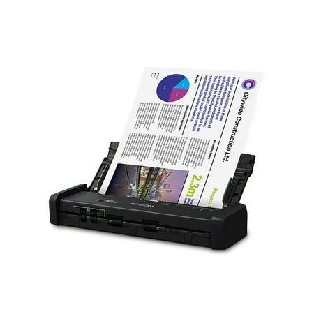 Epson WorkForce ES-200 Portable Duplex Document Scanner with ADF - Refurbished