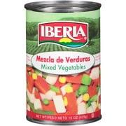 Iberia Mixed Vegetables, 15 oz