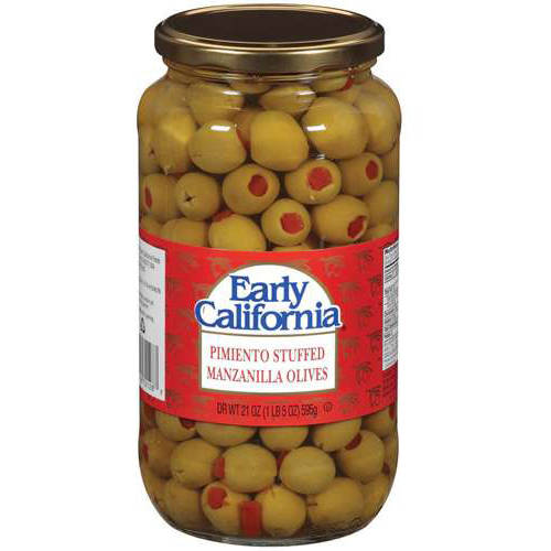 Early California: Manzanilla Pimiento Stuffed Olives, 21 oz by Generic