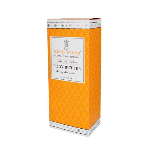 Deep Steep Body Butter Tangerine Melon - 6 fl oz