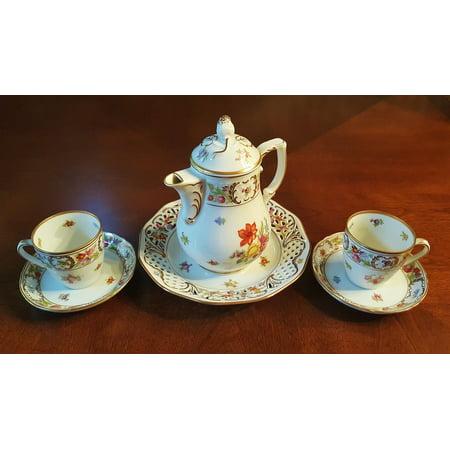 LAMINATED POSTER Chinaware Fine China Teacups Tea China Tea Set Poster Print 24 x 36