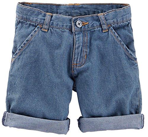 Little Girls' Bermuda Shorts (Toddler/Kid) - Denim - 5
