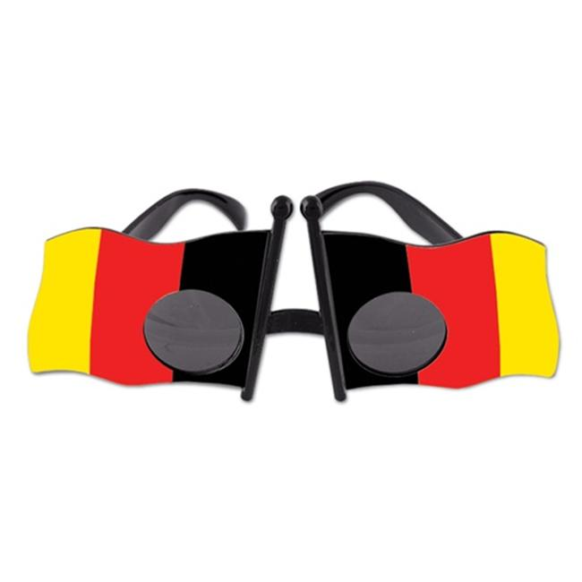 German Flag Fanci-Frames (Pack of 6) by Beistle