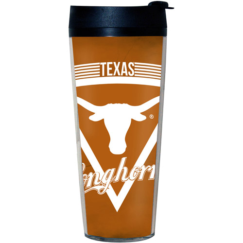 NCAA Texas Longhorns Double Insulated 20-oz Tumbler with Lid