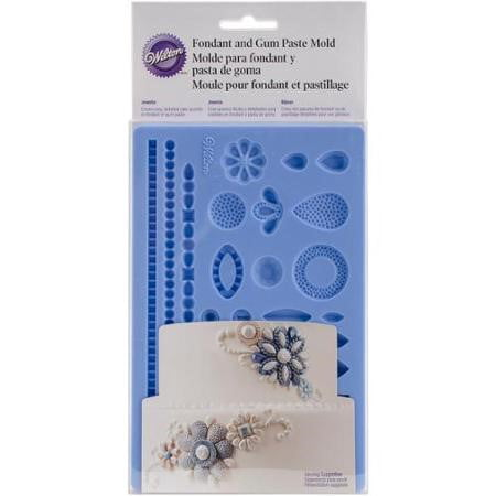 Wilton Fondant and Gum Paste Mold, Jewelry