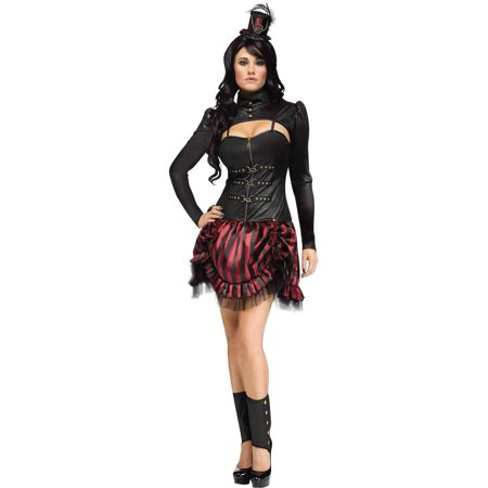 Fun World STEAMPUNK SALLY ADULT HALLOWEEN COSTUME - Steampunk Couple Costumes