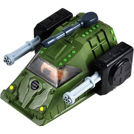 Kung Zhu Special Forces Rhino Tank with Spinning Gatling Cannons Hamster Powered Battle Tank (Hamster Not Included) 00613