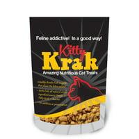 Kitty Krak 100% Natural Bonito Fish Cat Food Topper, 2.5 Oz.