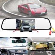 4.3 Automobile Car TFT LCD Monitor Mirror Mirror Camera + HD CCD Reverse Rear View Backup Camera Night Vision Waterproof Parking