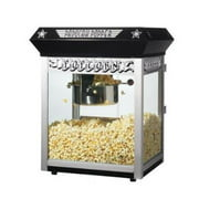 Great Northern 6050 Black Paducah Eight Ounce Bar Style Antique Popcorn Machine