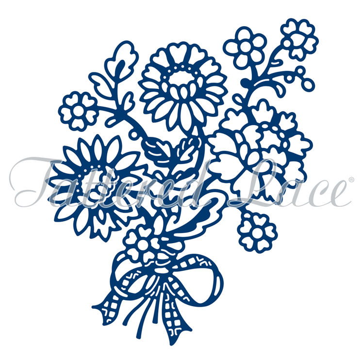 Tattered Lace Die - Lacy Bouquet