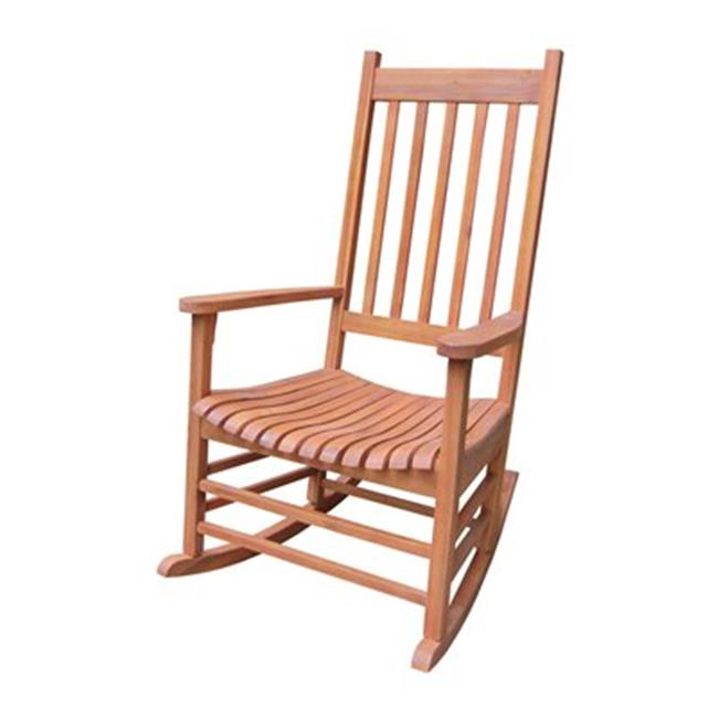 Intenational Concepts R-53930 Porch rocker - solid wood  Oiled
