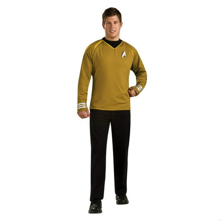 Star Trek Mens Grand Heritage Captain Kirk Halloween Costume](Pop Stars Halloween Costumes)