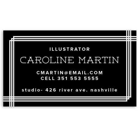 Personalized Business Cards (Tailored Sequence - Personalized 3.5 x 2 Business Card )