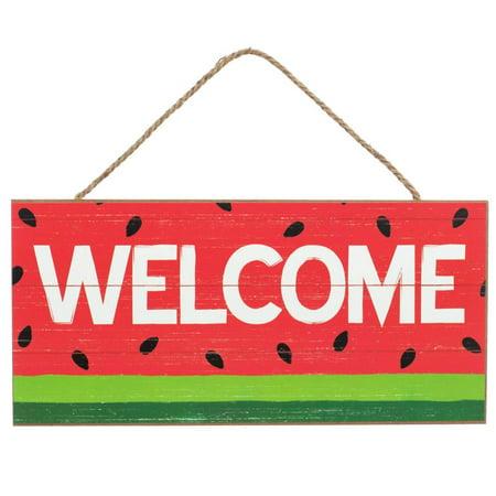 Summer Front Door Welcome Sign - 12